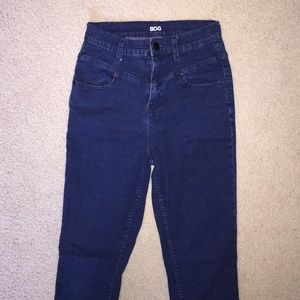 Urban outfitters blue highwaisted jegging